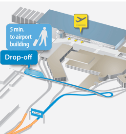 free drop-off zone brussels airport