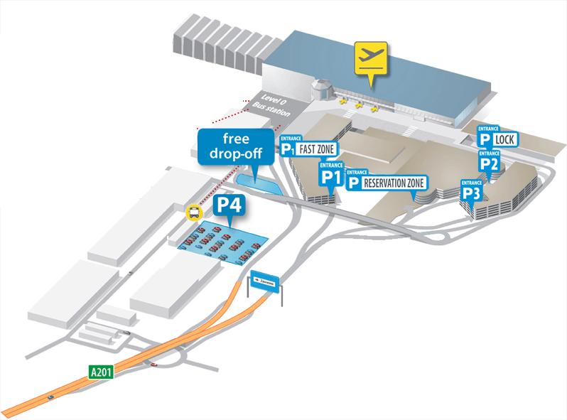 parkeren luchthaven zaventem brussels airport